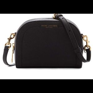 "Marc Jacobs ""playback"" leather crossbody bag-Black"